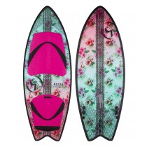 "Ronix Women's Koal w/ Technora - Fish Tail - 4'10"" - 2017"