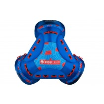 Radar Galaxy Tube - Blue / Red - 4 Person Tube - 2020