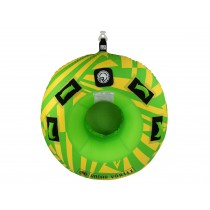 Radar Vortex - Yellow / Green - 1 Person Tube w/ Rope - 2020