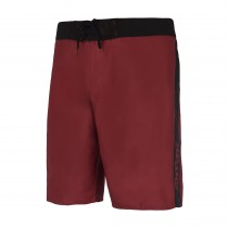 Mystic Brand Solid Boardshort - Dark Red - 2019