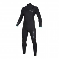 Mystic Marshall 4/3mm - Front Zip Wetsuit - Black/Mint - 2020