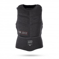 Mystic Majestic Kite Impact Vest Zipfree - Black - 2017