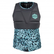 MYSTIC Diva WAKE IMPACT Vest Back Zip - Grey - 2018