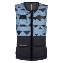MYSTIC Magician WAKE IMPACT Vest Front Zip - Pewter - 2018