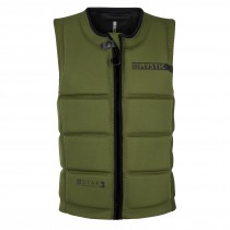 MYSTIC Star WAKE IMPACT Vest Front Zip - Army - 2018