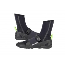 Mystic Lightning Boot 5mm Split Toe - Black - 2018