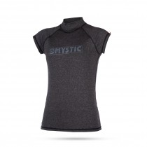 Mystic Womens Star S/S Rashvest - Black - 2019