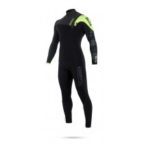 Mystic Majestic 4/3mm - Zipfree Wetsuit- Black/Lime - 2019