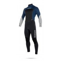 Mystic Star 4/3mm - Back Zip Wetsuit - Navy - 2018
