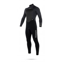 Mystic Star 4/3mm - Back Zip Wetsuit - Black - 2018