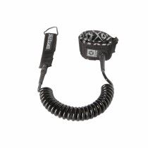 MYSTIC SUP COILED LEASH - BLACK