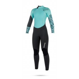 Mystic Diva 5/3mm - Back Zip Wetsuit - Womens - Grey - 2018