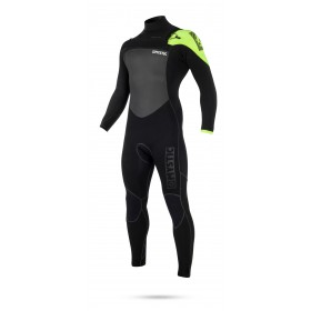 Mystic Legend 5/3mm - Front Zip Wetsuit - Black/Lime - 2018