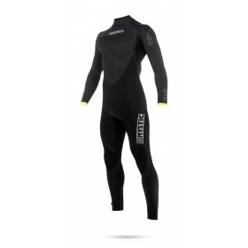Mystic Majestic 4/3mm - Back Zip Wetsuit - Black/Grey - 2018