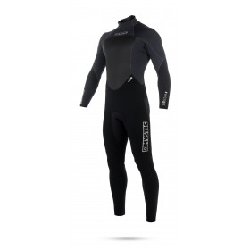 Mystic Star 5/4mm - Back Zip Wetsuit - Black - 2019