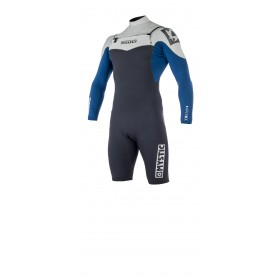 MYSTIC Star 3/2mm Longarm Shorty Front Zip Wetsuit - Navy - 2019