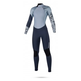 Mystic Diva 3/2mm - Back Zip Wetsuit - Womens - Navy - 2018