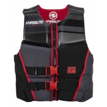 Hyperlite Prime Neo Wake Vest - Red - 2019