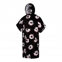 21 - Mystic Poncho Velour - Black/White