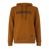 Mystic Brand Hood Sweat - Golden Brown - 2019