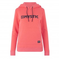 Mystic Brand Hoodie Sweat - Faded Coral - 2019