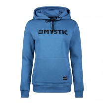 Mystic Womens Brand Hoodie Sweat - Denim Blue - 2020