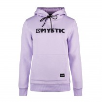 Mystic Womens Brand Hoodie Sweat - Purple