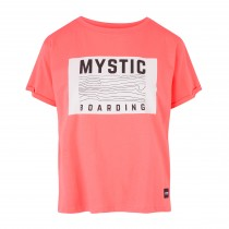 Mystic Charley Tee - Faded Coral - 2019