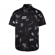 Mystic Party Shirt - Black/White - 2020