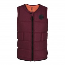 Mystic The Dom Wake Impact Vest FZ - Oxblood Red - 2020