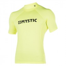 Mystic Star Rash Vest Men S/S - Lime - 2017