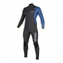 Mystic Majestic 3/2mm - Front Zip Wetsuit - Grey Blue - 2020