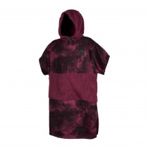 Mystic Poncho Allover - Oxblood Red - 2020