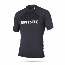 MYSTIC STAR RASH S/S TOP - BLACK - 2017