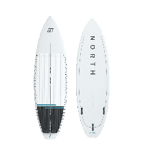 North KB - Charge Surfboard - White - 2022