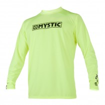 MYSTIC Star L/S Quickdry - Lime - 2020
