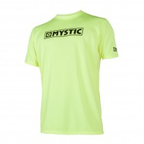 MYSTIC Star S/S Quickdry - Lime - 2020