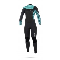 Mystic Diva 5/3mm - Front Zip Wetsuit - Womens - Grey - 2018