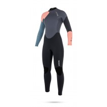 Mystic Dutchess 5/4mm - Back Zip Wetsuit - Womens - Pewter - 2018