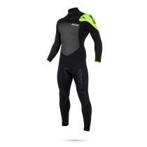 Mystic Legend 5/3mm - Front Zip Wetsuit - Black/Lime - 2019