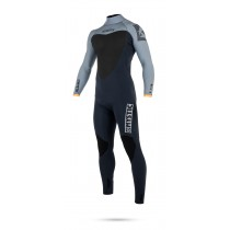 Mystic Majestic 3/2mm - Back Zip Wetsuit - Orange - 2018