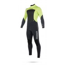Mystic Star 3/2mm - Back Zip Wetsuit - Lime - 2018