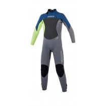 Mystic Star 3/2mm Back Zip Wetsuit - Kids - Navy - 2020