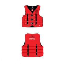 Spinera Dual Size Nylon Vest - Red