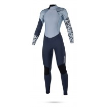 Mystic Diva 5/3mm - Back Zip Wetsuit - Womens - Navy - 2018