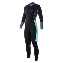 MYSTIC DUTCHESS 5/4MM LADIES WETSUIT - BLACK - 2017