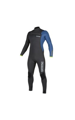 Mystic Majestic 5/3mm - Front Zip Wetsuit - Grey Blue - 2020